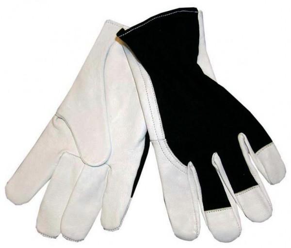 arbeit-ziegenleder-ziegenvollleder-handschuhe-arbeitshandschuhe-baumwollhandruecken-ungefuettert-gummizug-hsw91504