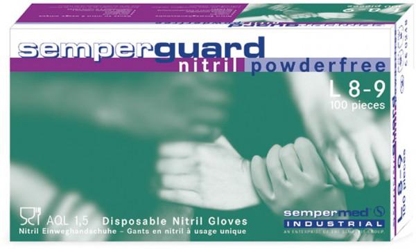 sempermed-arbeitshandschuhe-einweghandschuhe-einmalhandschuhe-semperguard-nitril-puderfrei-ungepudert-chemikalienschutz-rollrand-0445-0757-hsw91700