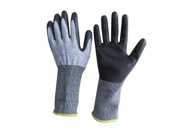 feuerwehr-thl-technische-hilfeleistung-protect-5-five-feinstrick-latex-beschichtung-schnittschutz-grau-meliert-stulpe-handschuhe-hsw91250