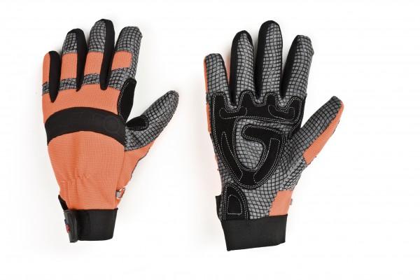 feuerwehr-thl-technische-hilfeleistung-synthetik-leder-nylon-spandex-silikon-nylongewirke-handschuhe-schwarz-leuchtorange-hsw91215