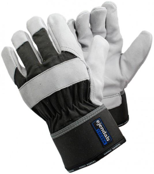 arbeit-ochsenspaltleder-baumwolle-halb-gefuettert-reflektoren-gummizug-handschuhe-hsw90613