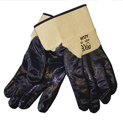 arbeit-baumwolle-nitrilbeschichtung-stulpe-arbeitshandschuhe-stoffhandschuhe-strickhandschuhe-hsw91301-ox-on-azur