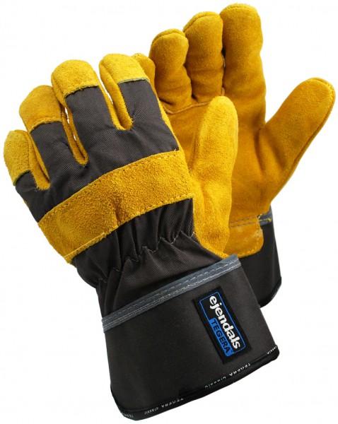 arbeitshandschuhe-arbeit-handschuhe-rindspaltlederhandschuhe-rindspaltleder-baumwolle-gefuettert-reflektorband-gummizug-ejendals-tegera-35-hsw91531