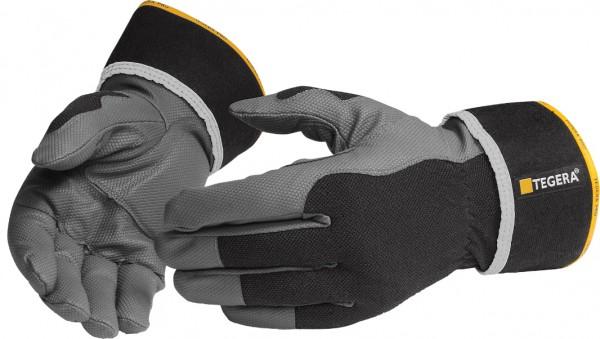 arbeit-microthan -baumwolle-halb-gefuettert-chromfrei-reflektoren-montage-handschuhe-hsw90603