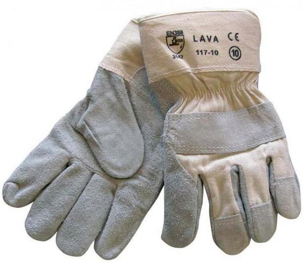 arbeit-leder-rindspaltleder-natur-textilruecken-canvasstulpe-doppelnaehte-gefuettert-arbeitshandschuhe-handschuhe-hsw91500
