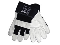 arbeitshandschuhe-arbeit-handschuhe-leder-rindvollleder-rindnarbenleder-natur-doppelnaehte-gefuettert-gummierte-stulpe-ox-on-granat