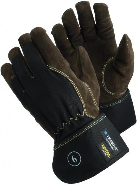 arbeit-schnittschutz-rindsspaltleder-baumwolle-kevlar-reflektoren-gummizug-handschuhe-hsw90669