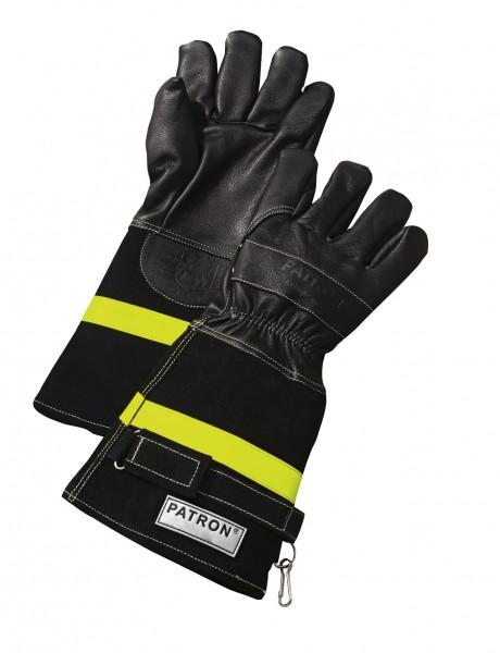 feuerwehr-thl-technische-hilfeleistung-leder-kevlar-stulpe-klettverschluss-reflexstreifen-handschuhe-hsw91088