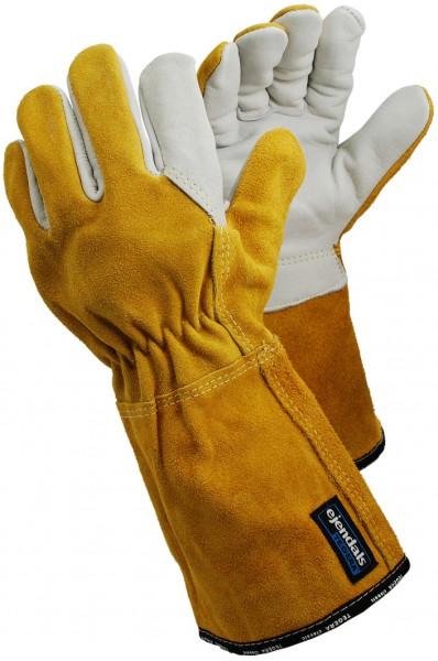 arbeit-leder-schweisser-hitzeschutz-rindsnarbenleder-rindsspaltleder-kevlargarn-stulpe-handschuh-hsw90351