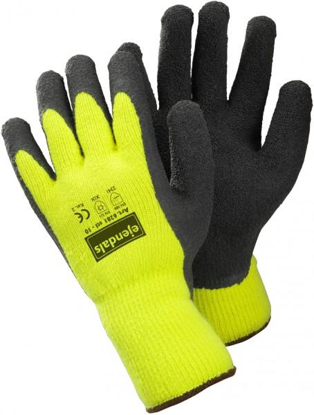 arbeit-winter-latex-baumwolle-polyester-handschuh-neongelb-hsw90269