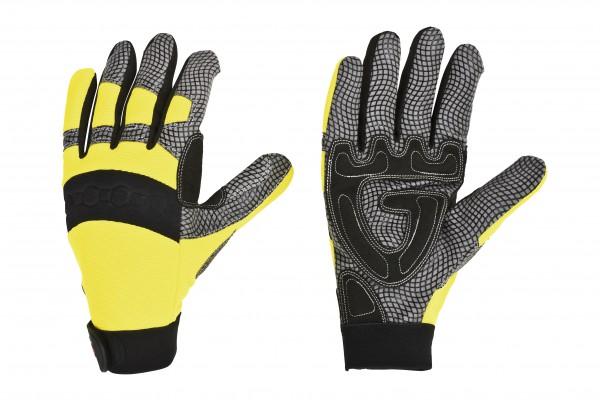 feuerwehr-thl-technische-hilfeleistung-synthetik-leder-nylon-spandex-silikon-nylongewirke-handschuhe-schwarz-leuchtgelb-hsw91223