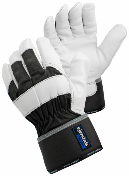 arbeit-ochsennarbenleder-baumwolle-halb-gefuettert-reflektoren-gummizug-handschuhe-hsw90609