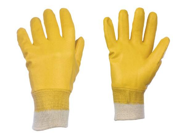 arbeitshandschuhe-arbeit-handschuhe-strong-hand-amarillo-0551-0526-baumwolle-trikot-nitril-gelb-vollbeschichtet-strickbund-beschichtung-fettabweisend-oelabweisend